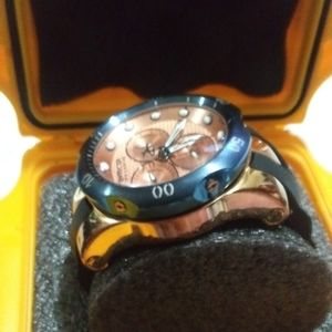 Invicta Accessories - MEN'S INVICTA VENOM RESERVE WRISTWATCH ROSE GOLD